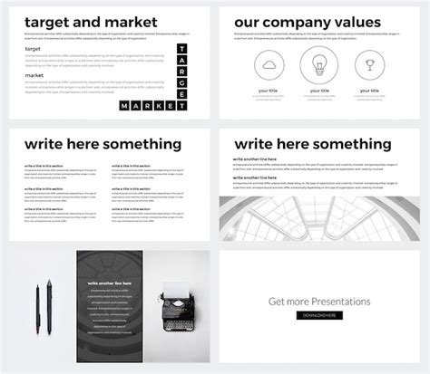 Minimalist Powerpoint Template Free 2 by Create Stylish Professional Presentations With This