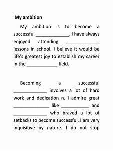 my ambition in life essay for kids doctor