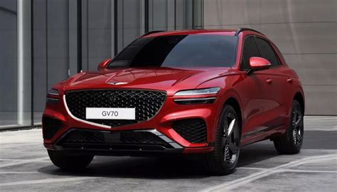 2022 Genesis GV70 compact crossover revealed - The Torque ...