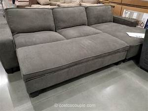 costco chaise sofa fabric chaise sofa with storage ottoman With costco sofa bed with storage