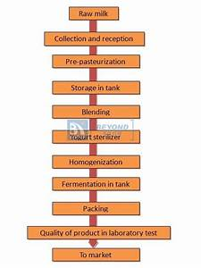 Process Flow Diagram For Yogurt Production