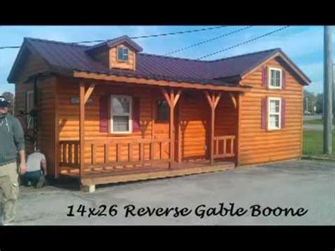 amish  cabins cabin deliverymp youtube