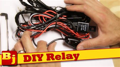 Wiring Harnes Hook Up by Diy Led Light Bar Harness How To Make Your Own Nilight