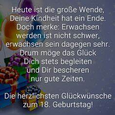 Geburtstagsbilder Zum 18 : lustige spr che und sch ne gl ckw nsche zum 18 geburtstag ~ A.2002-acura-tl-radio.info Haus und Dekorationen