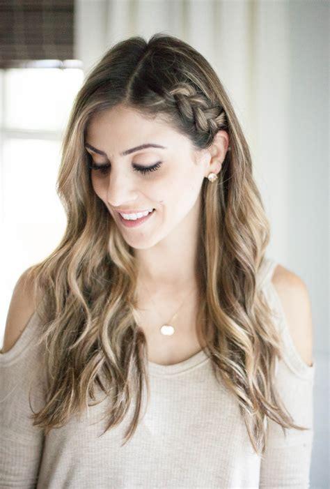 beauty   side braid hair tutorial lauren mcbride