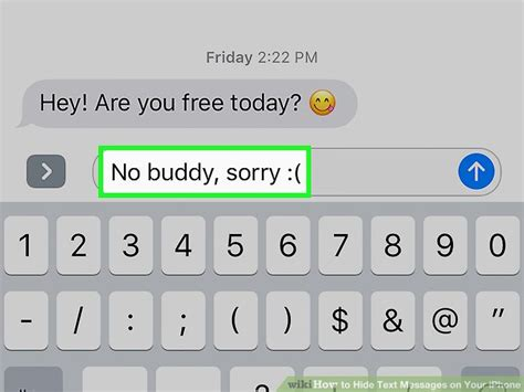 hide text messages iphone 4 ways to hide text messages on your iphone wikihow 1272