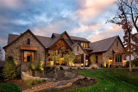 country house plans with porches rustic home front exterior