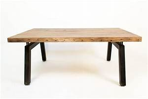 Reclaimed Oak Coffee Table Omero Home