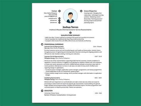 Free Resume Search Philippines by Modern Undergraduate Resume Inforati Philippines
