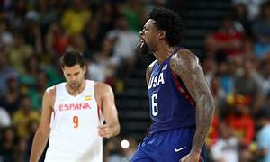 DeAndre Jordan Sets The Tone in Team USA's 82-76 Olympic ...