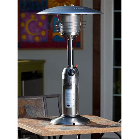 sense stainless steel table top patio heater 60262