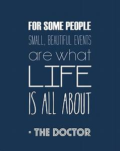 Doctor Who Inspirational Quote Typography Print ...