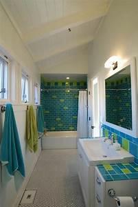 Decoration De Salle De Bain : d co reposante et tendance en vert pour la salle de bain design feria ~ Teatrodelosmanantiales.com Idées de Décoration