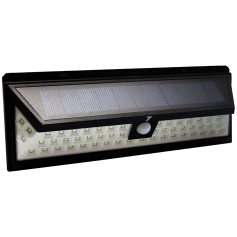 54 led pir motion sensor solar led wall light 7dayshop