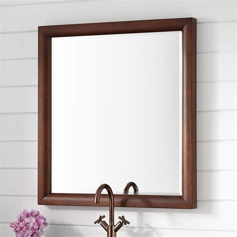 Walnut Bathroom Mirrors by Talyn Mahogany Vanity Mirror Light Walnut Bathroom