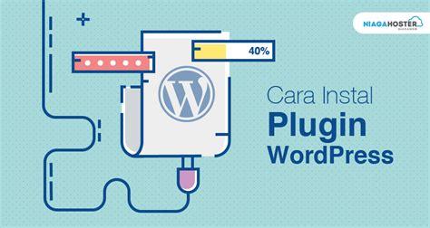 install plugin wordpress niagahoster blog