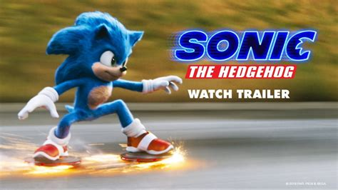 Sonic The Hedgehog | Official Trailer - YouTube