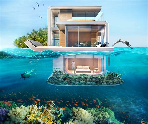 Floating Seahorse Underwater Home Offers Glimpses Of