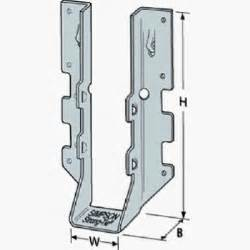 simpson strong tie double joist hanger z max 2 x 6 in