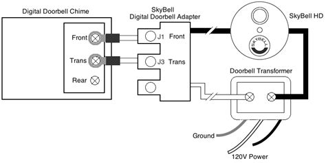 do i need a digital doorbell adapter how do i install it skybell technologies