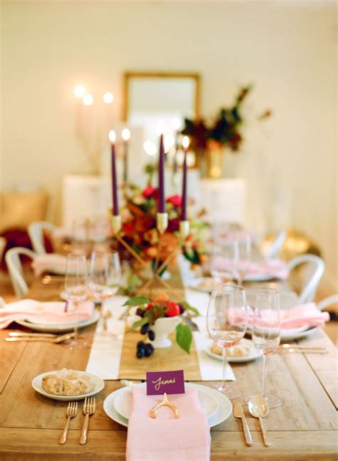 create  perfect thanksgiving tablescape