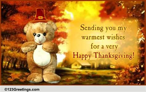 warm thanksgiving hugs  wishes  happy thanksgiving