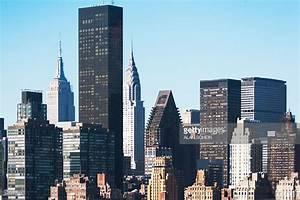 Usa New York State New York City View Of Trump Tower Stock ...