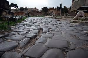 Ancient Roman Paved Road