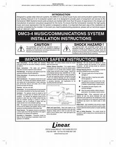 M U0026s Systems Mc350a Operating Instructions