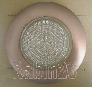 Can I Shower With Contact Lenses In by 6 Quot Recessed Can Light Bronze Shower Trim Fresnel Clear