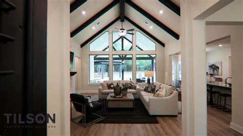 la salle custom home plan  tilson homes