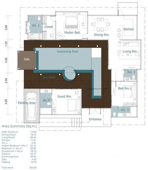 bali style bali  house plans  pinterest