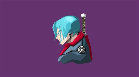 trunks dragon ball super minimalism  hd anime