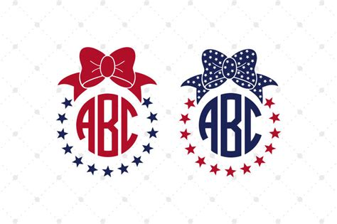 Many people think that it no longer works, and that they're forced to use cricut's design space for their designs. 4th Of July Svg Monogram - Free SVG Cut Files for Cricut ...