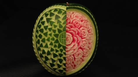 open  heart watermelon rose advanced lesson