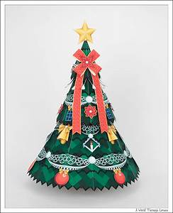 Christmas Decorations Paper Craft - Christmas Lights Card