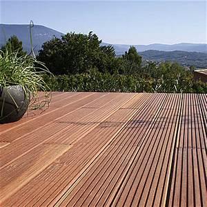 Leroy Merlin Lame Terrasse : une terrasse en bois ~ Melissatoandfro.com Idées de Décoration
