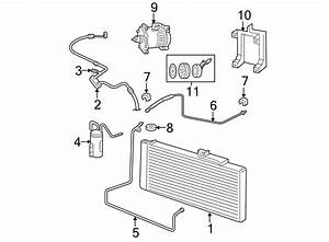 Dodge Ram 2500 A  C Condenser  Conditioning  Diesel  Liter