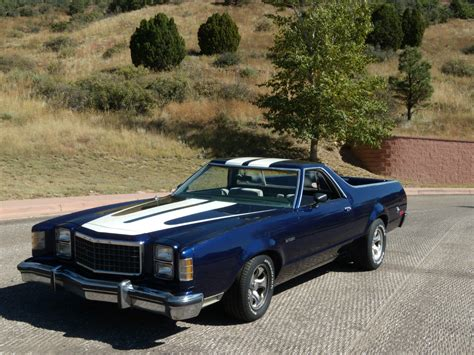 Classic Ford by 1979 Ford Ranchero Gt Car 351 Modified