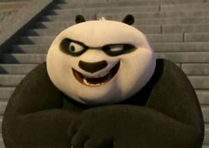 "From episode 3, which of Po's ""scary"" faces creep you out ..."