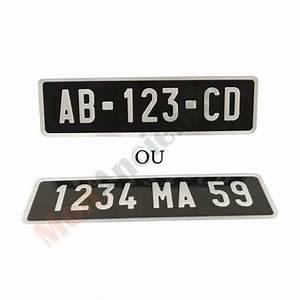 Plaque Moto Pas Cher : plaque d 39 immatriculation moto aluminium noire 275 x 75 mm achat vente plaque immatriculation ~ Maxctalentgroup.com Avis de Voitures
