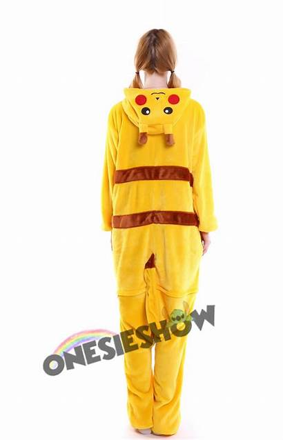 Onesie Pikachu Pajamas Kigurumi Animal Unisex Flannel