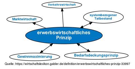 erwerbswirtschaftliches Prinzip • Definition | Gabler Wirtschaftslexikon
