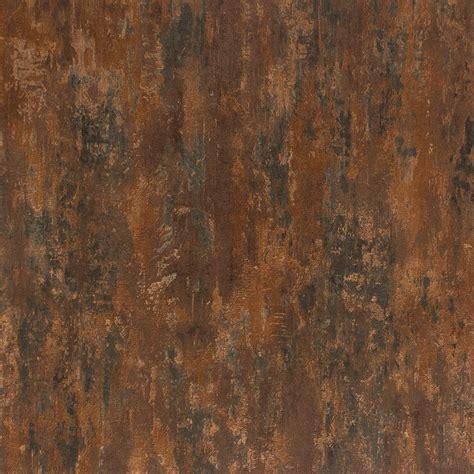vliestapete patina kupfer rotbraun metallic