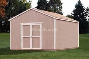 12 x 12 feet gable storage shed plans buy it now get it