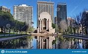 Anzac War Memorial In Hyde Park, Sydney, Australia Stock ...