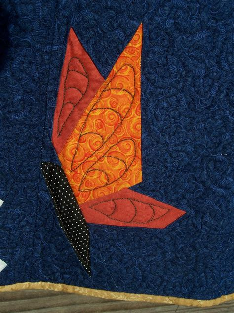 Free Paper Pieced Butterfly Quilt Pattern