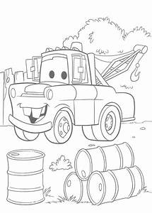 Disney Coloring Pages Picture : Cars Toon Mater's Tall Tales