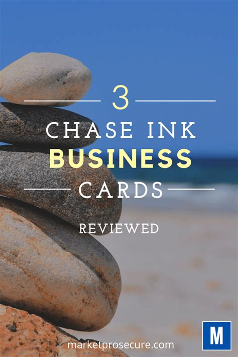 Here's a breakdown of benefits for the ink business the ink business preferred card does have a $95 annual fee, but you can offset it by spending $3,167 annually on combined 3x rewards categories. Chase Ink Cards Review. 3 Ink Business Credit cards Reviewed
