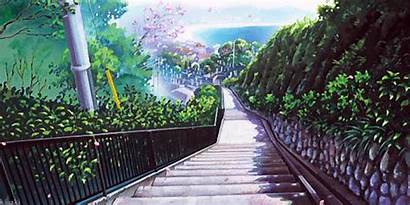 Anime Gifs Spring Scenery Elfen Lied Paisajes